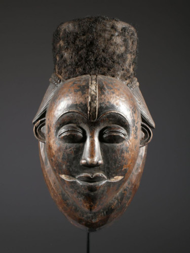 Wood Punu Mask